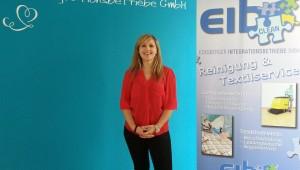 Veronika Moosner, Betriebsleiterin Firma EIB in Mettenheim