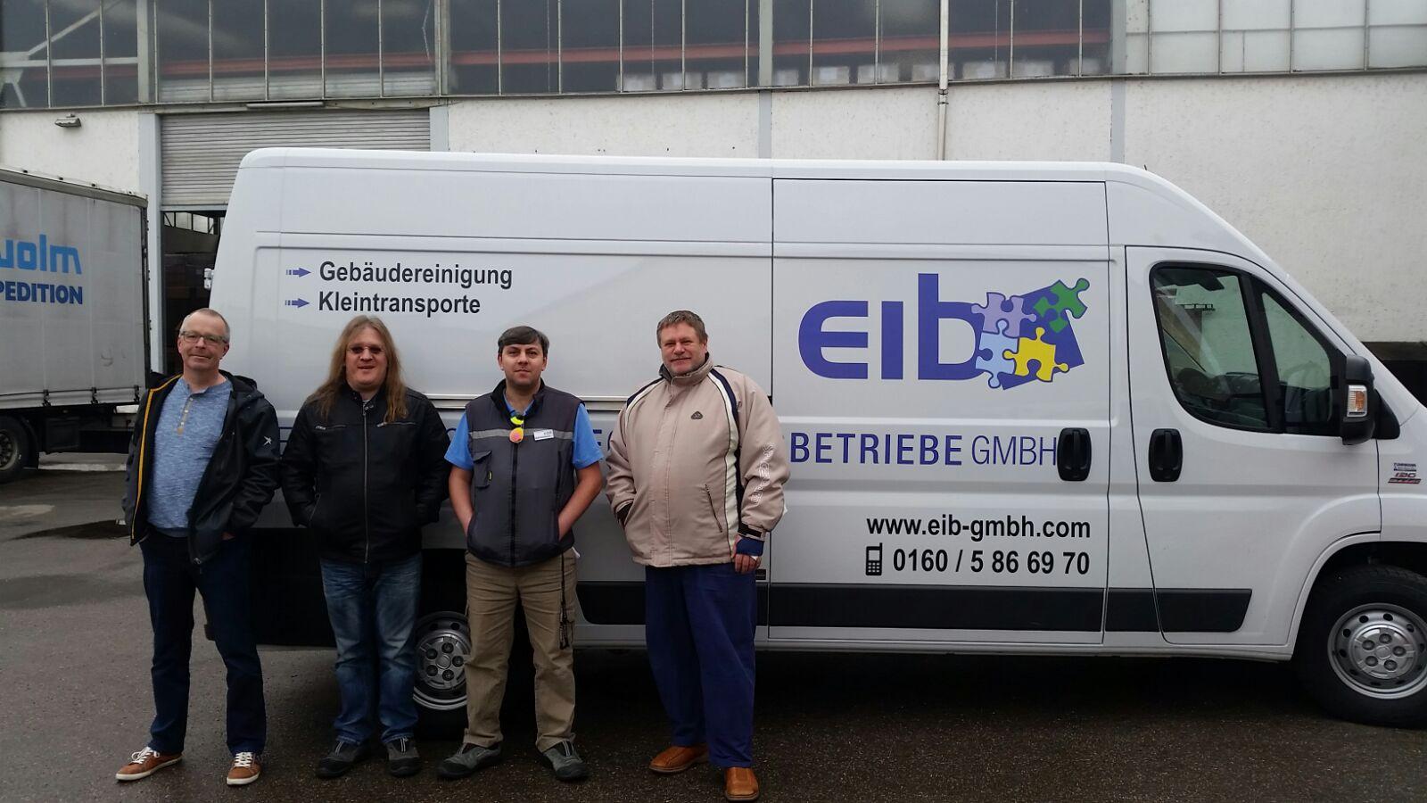 neues Fahrzeug für EIB
