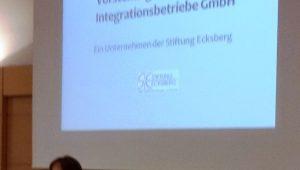 EIB präsentiert sich beim Selbsthilfeforum des Hauses der Begegnung